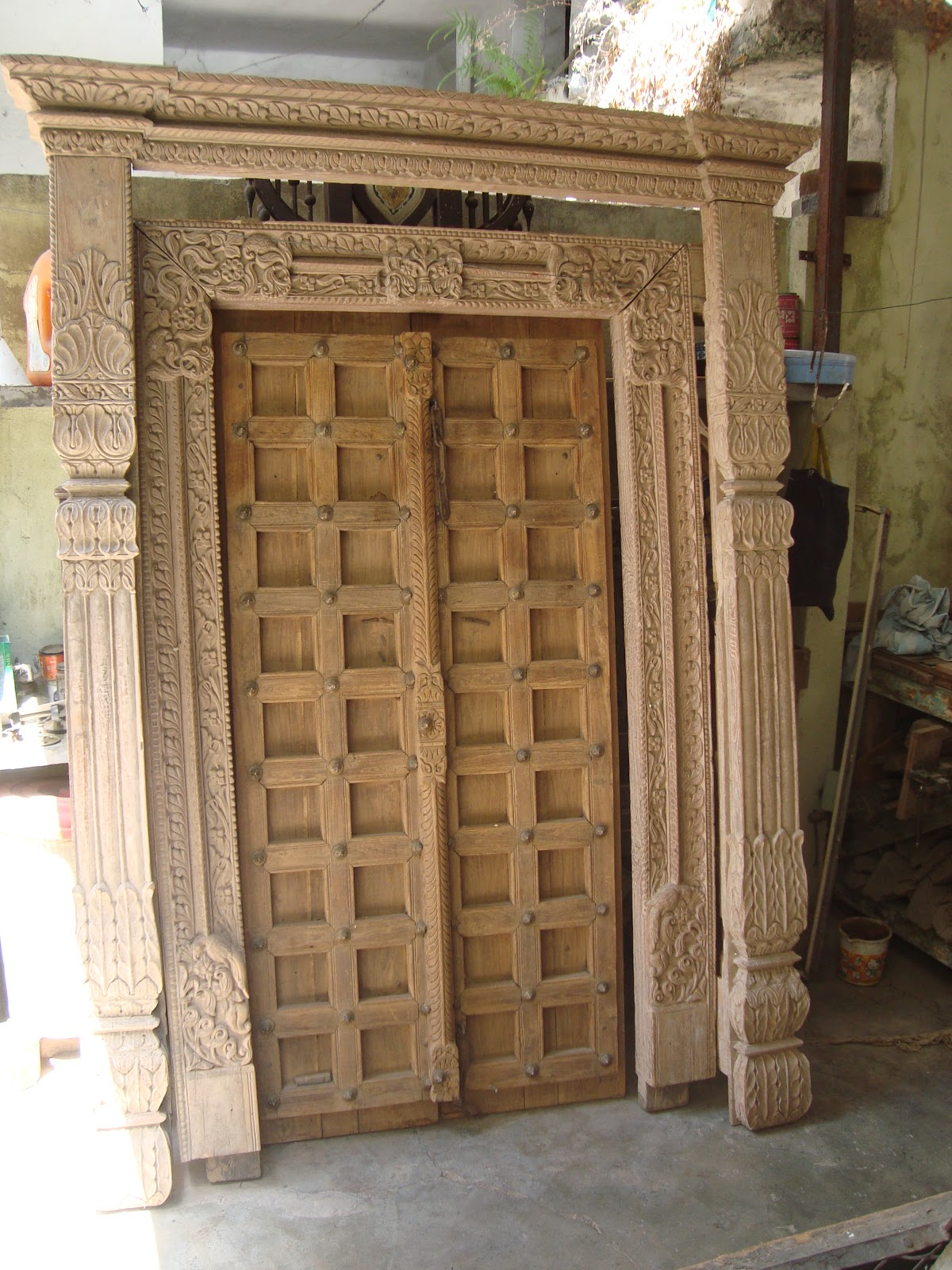 Wooden doors vintage wooden doors for sale for Door to door sales