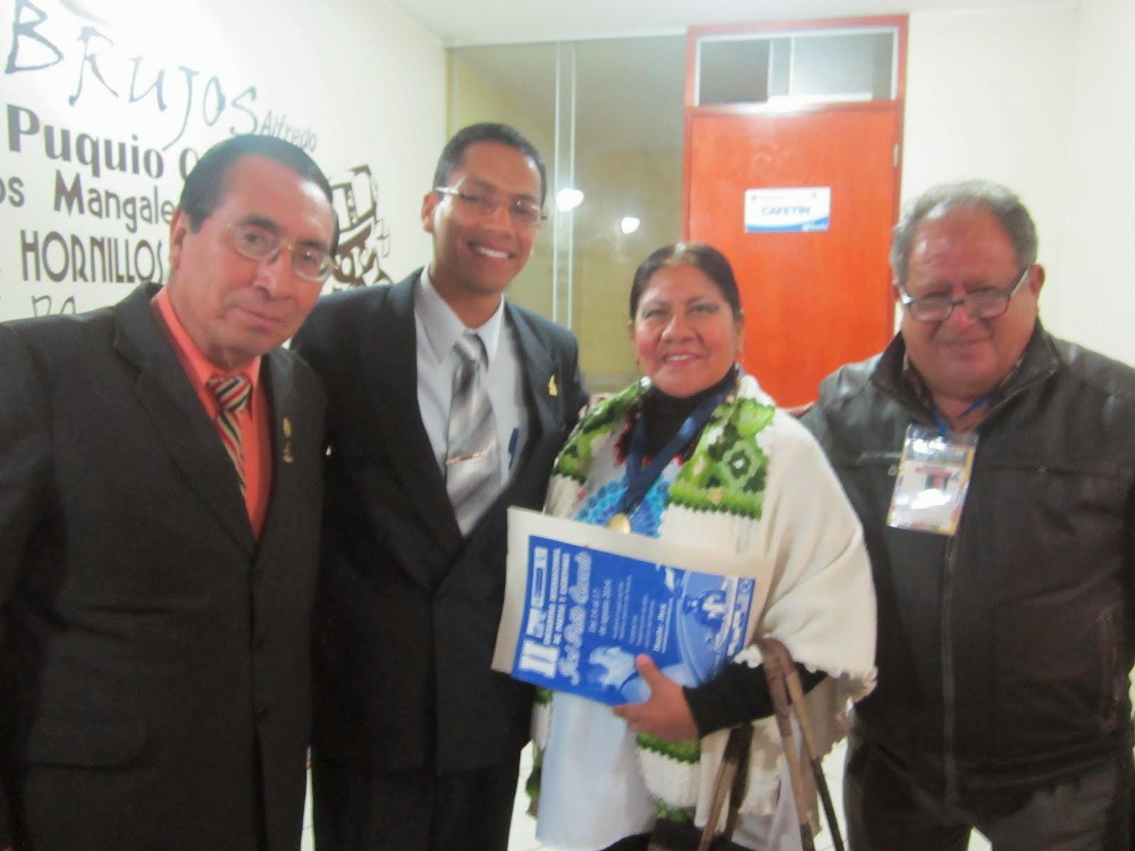 III Encuentro Internacional de poetas y escritores en Huacho