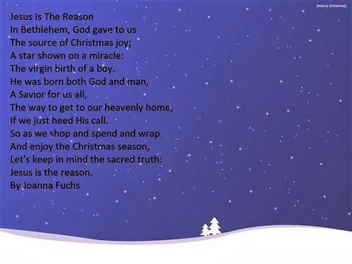 Best Christmas Poems For Church 2013