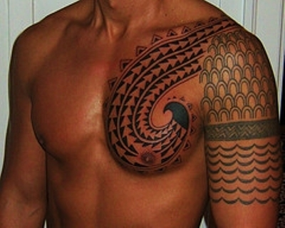 hawaiian-flower-tattoos-for-men