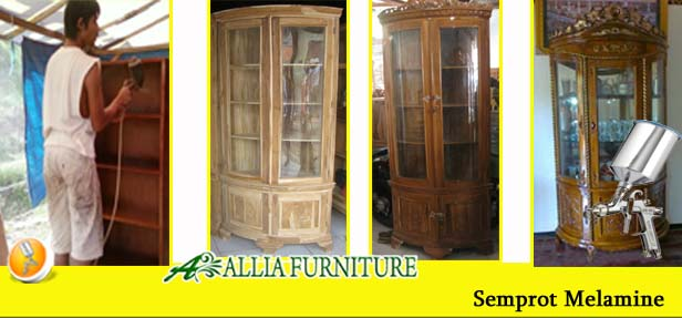 Furniture Finishing Semprot Melamine
