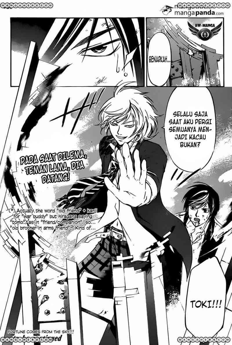 Dilarang COPAS - situs resmi www.mangacanblog.com - Komik code breaker 221 - semangat bertarung 222 Indonesia code breaker 221 - semangat bertarung Terbaru 20|Baca Manga Komik Indonesia|Mangacan
