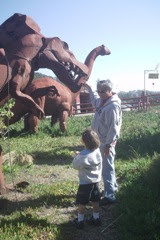Dinosaurs at Half Moon Bay  CA 2011