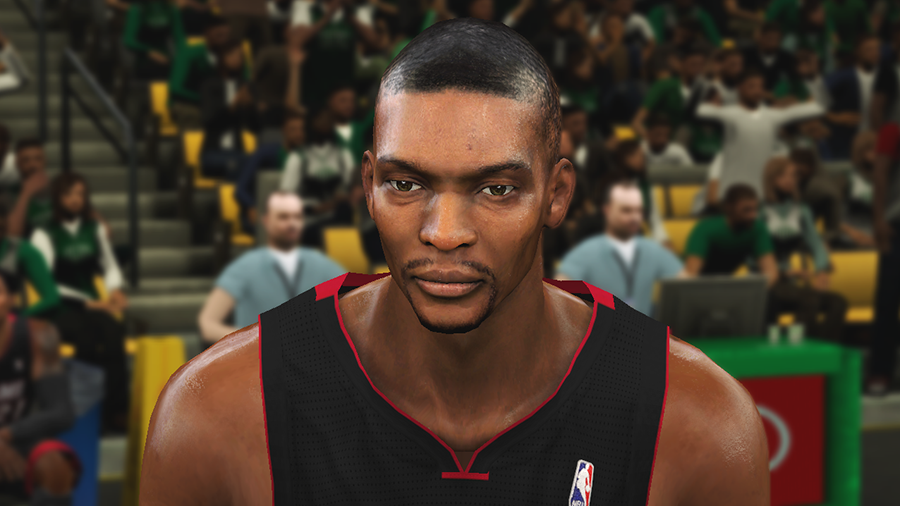 NBA 2K14 Chris Bosh Face Mod