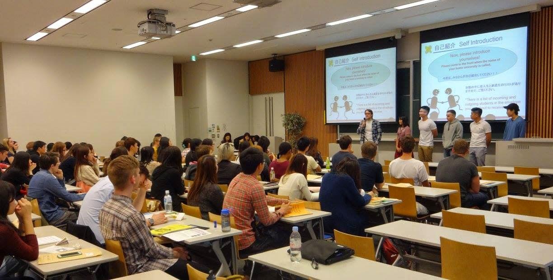 Giờ học tại  Trường đại học Keio Nhật Bản