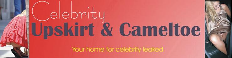 Celebrity Upskirt  and Cameltoe