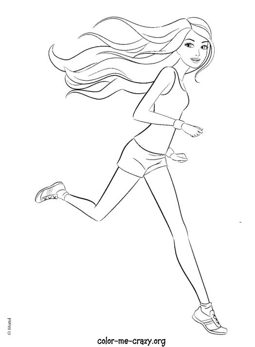 barbie mariposa coloring pages free - photo#26