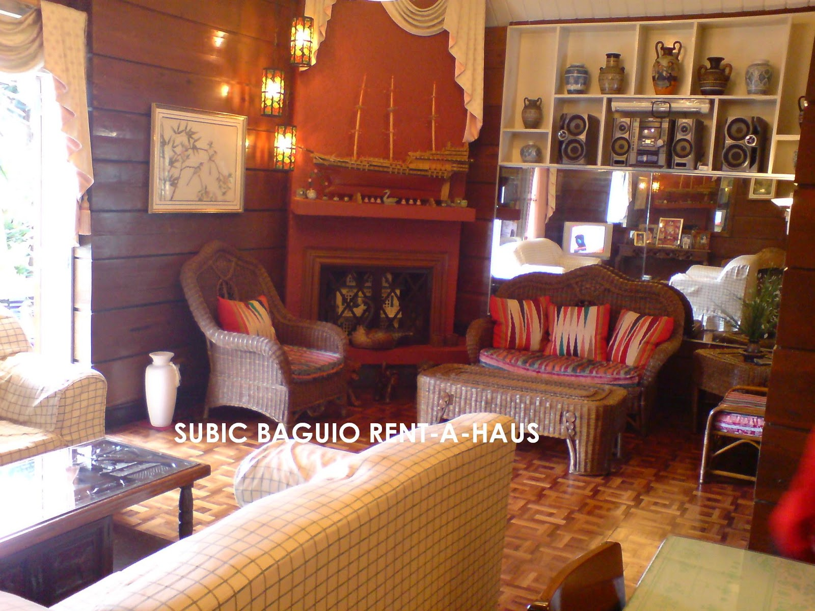 what cha ma call it 4 bedroom baguio house for daily rent in baguio