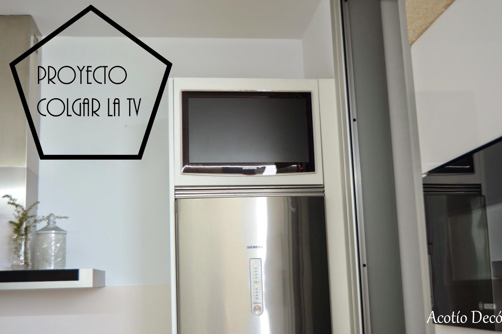 Proyecto integrar la tele en un armario de cocina - Tu armario de la tele ...