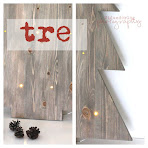 DIY: tre med lys