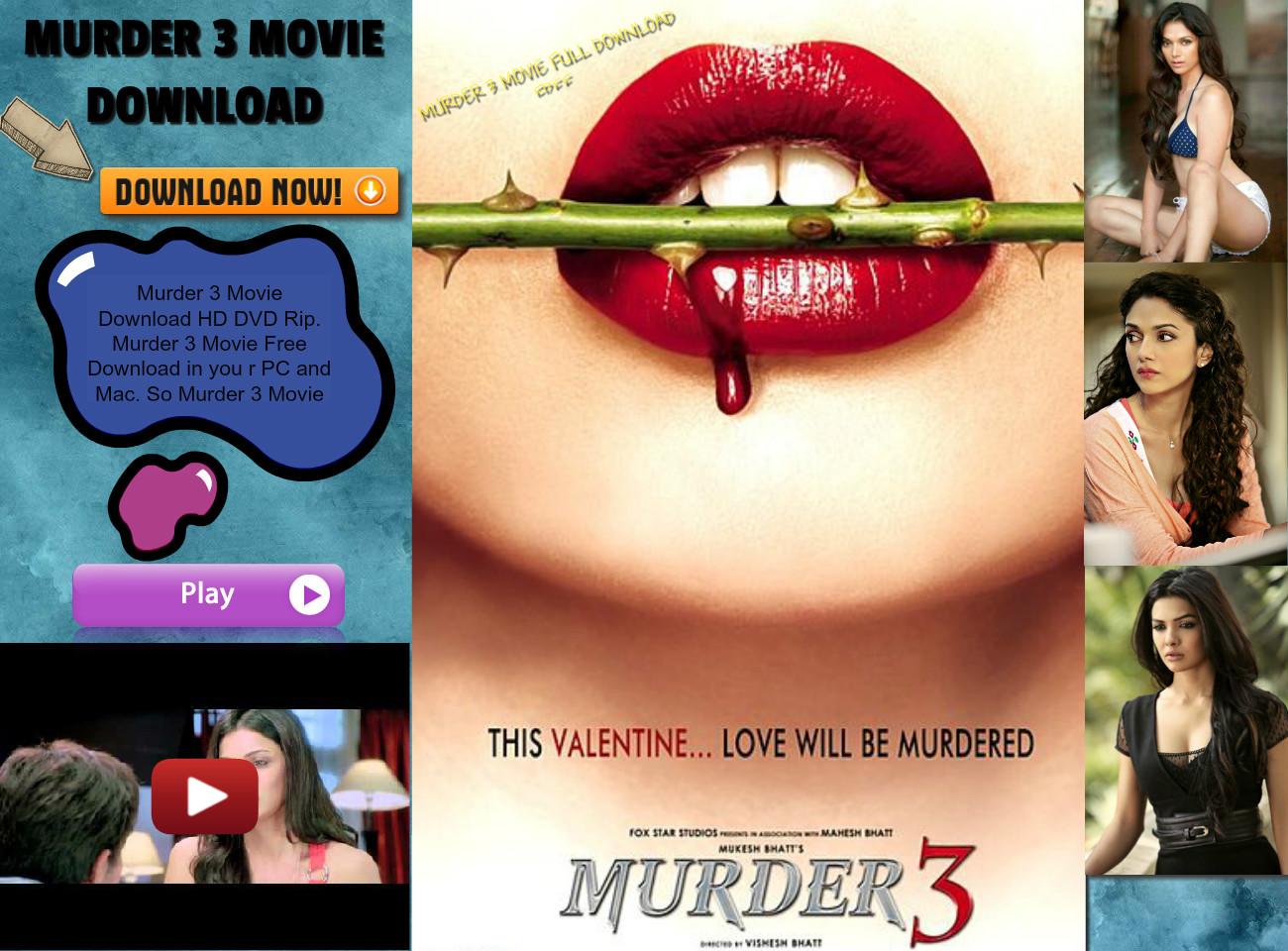 Song of murder movie