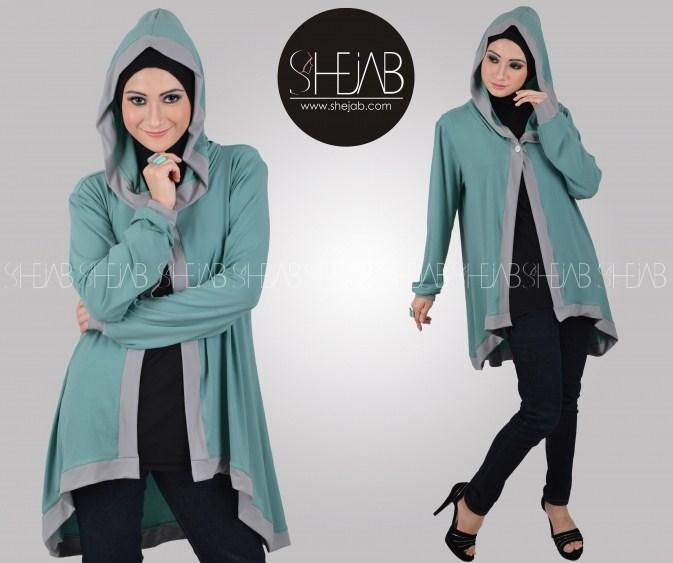 Fashion style baju hijab simple modern terkini 2016 Fashion style hijab modern