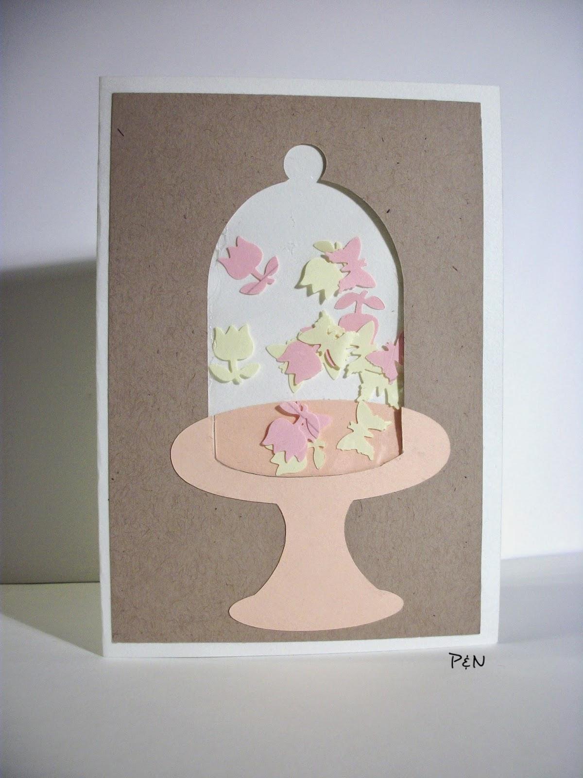 Pumps & Needles Bell Jar Shaker Card