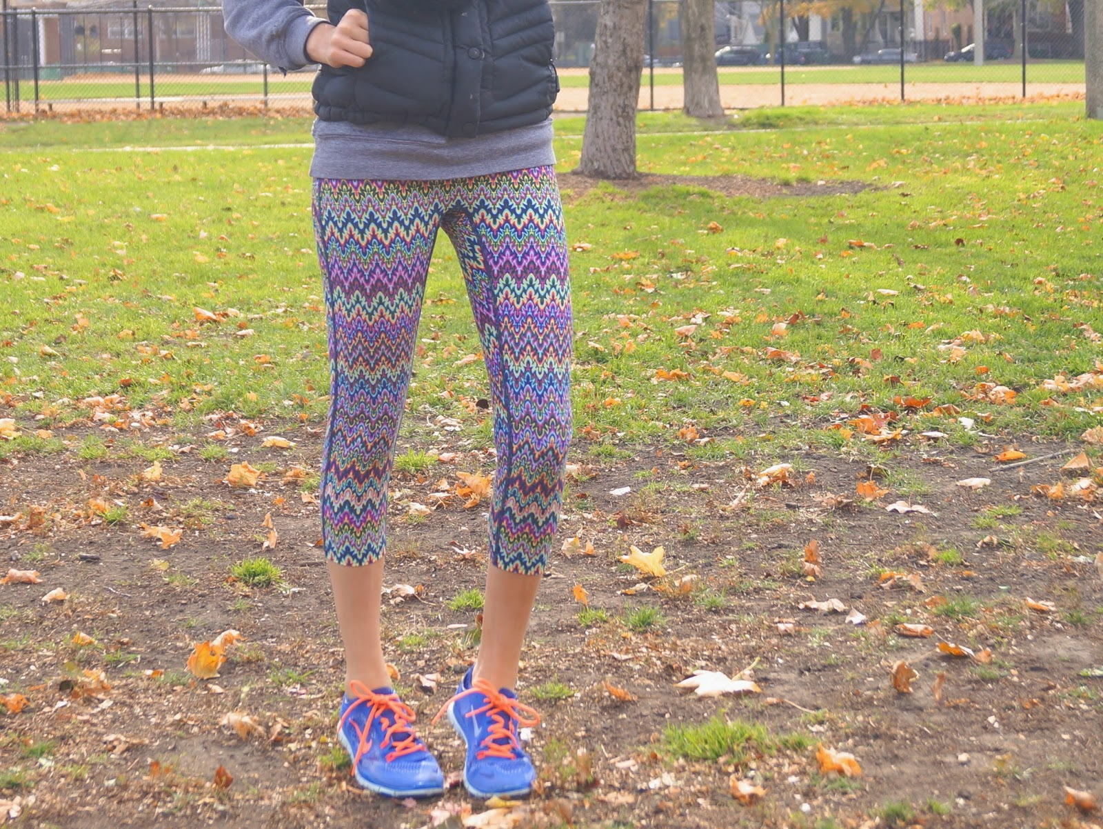 colorful leggings