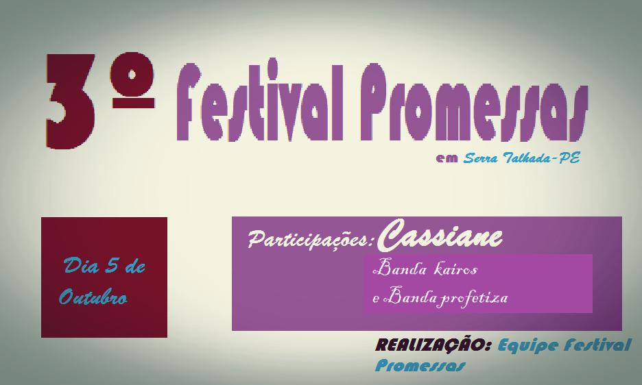 Festival Promessas Serra Talhada