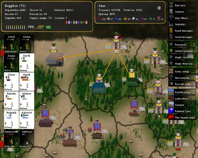 Dominions 4  - Magic Sites Search Spells