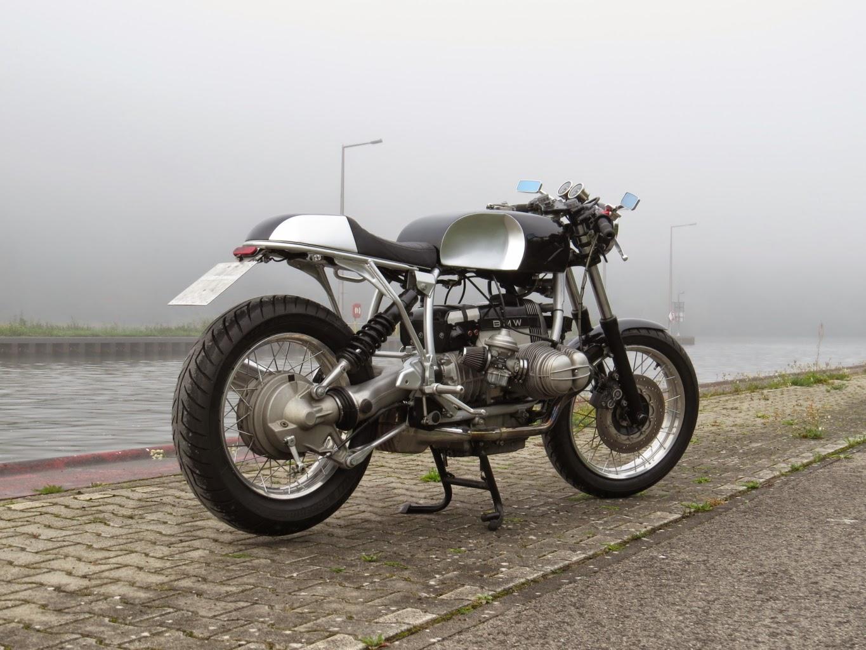 bmw r100 cafe racer by hammer kraftrad lsr bikes. Black Bedroom Furniture Sets. Home Design Ideas
