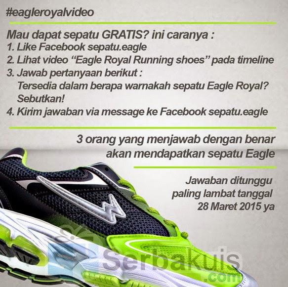 Kuis Eagle Royal Video Berhadiah 3 Sepatu Eagle