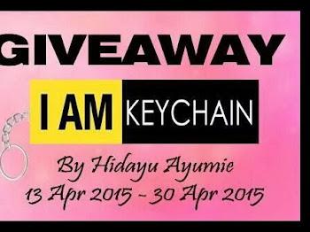 Giveaway I AM Keychain by Hidayuayumie