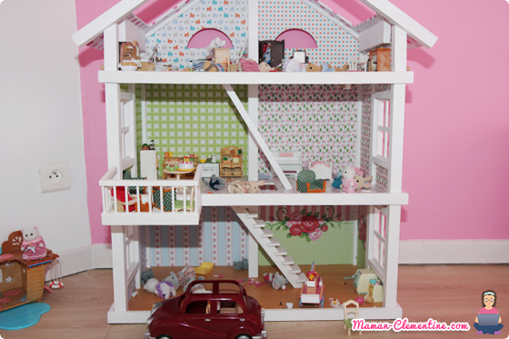 Sylvanian families la maison sylvanian homemade for Sylvanian chambre parents