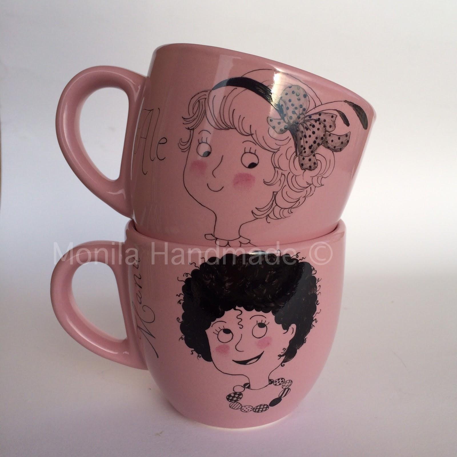 Monila Handmade,porcellana,dipinto a mano