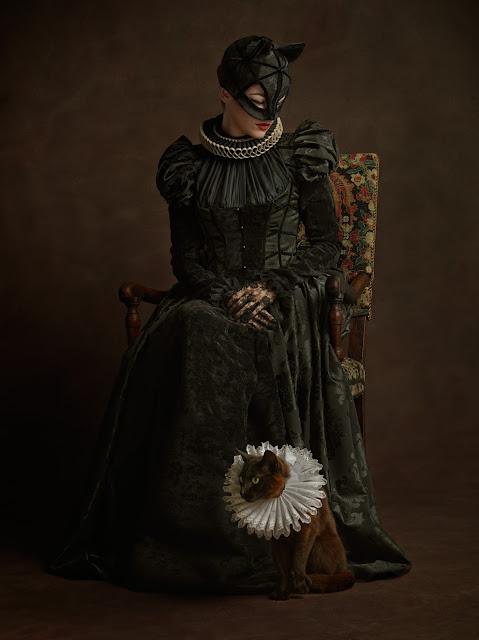 fotografia catwoman a lo flamenco