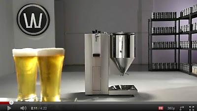 Ya salio la máquina para hacer tu propia cerveza en 7 días de WilliamsWarn
