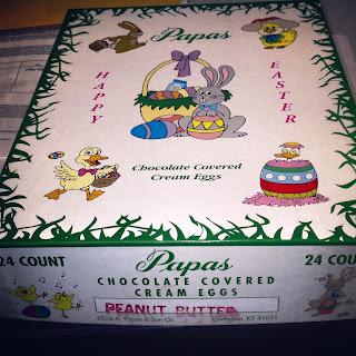 Papas Peanut Butter Eggs