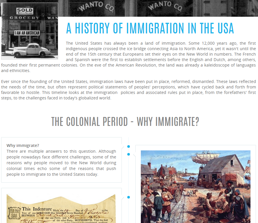 U.S. Immigration Before 1965
