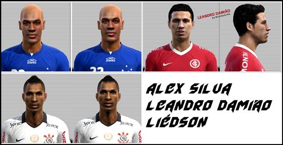 cats1 PES 2012: Face Alex Silva, Leandro Damião e Liédson