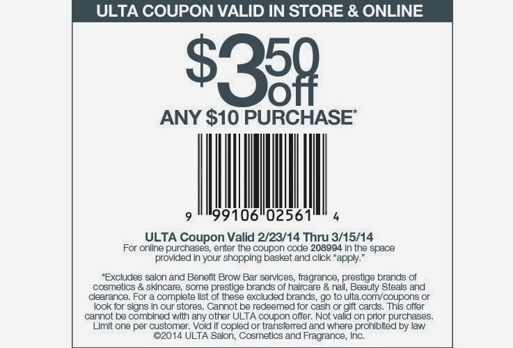 Ulta Printable Coupon