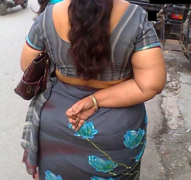 Aunty Back Side