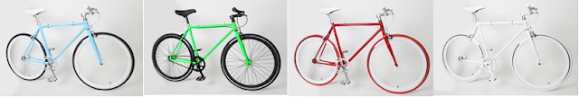 fixies, fixed gear bikes, single speed bike by Baseline Bicycles