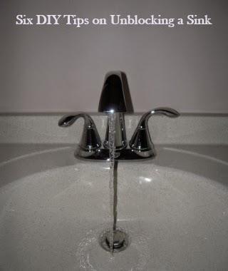 Six DIY tips on Unblocking a Sink