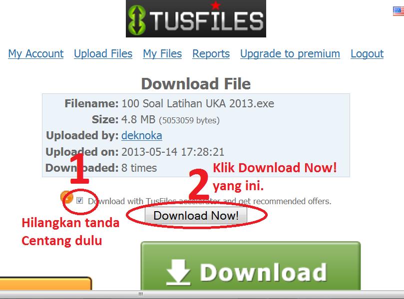 Cara Download File Di Pusat Informasi Dari Tusfile Pusat Informasi Pendidikan