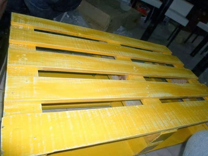 Mesa ratona para el living comedor reciclando palets de madera