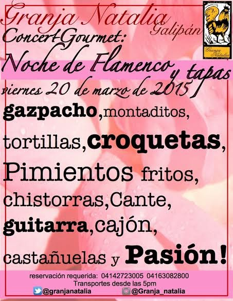 mejores restaurantes de caracas granja natalia galipan flamenco noche