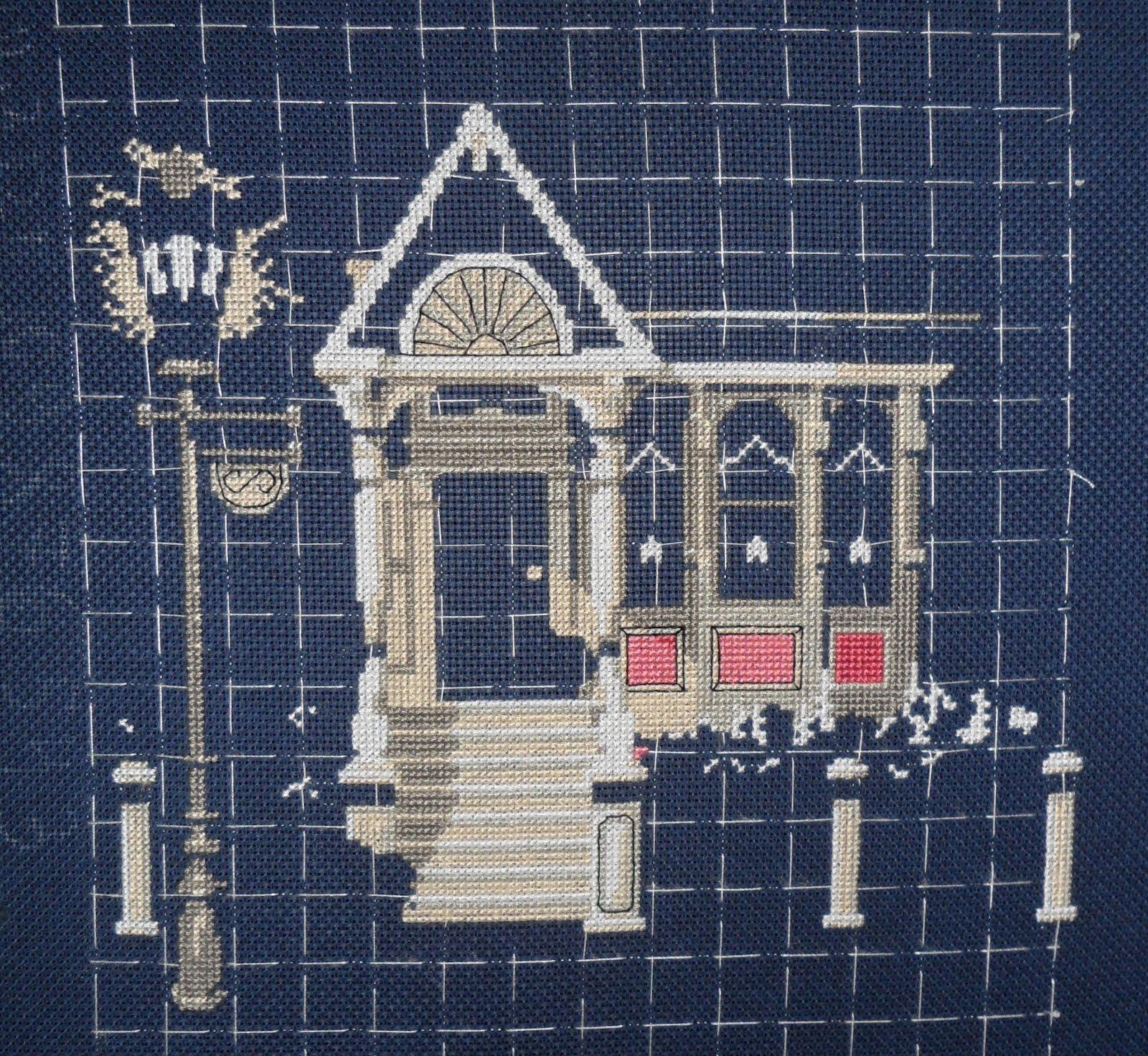 Вышивка викторианский шарм: схемы и рекомендации 14