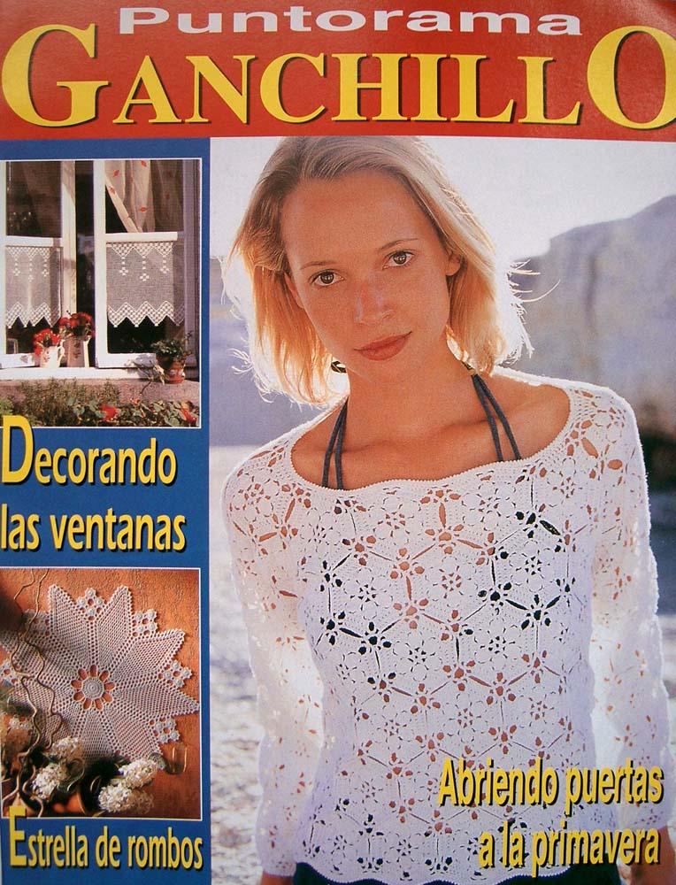 Crochet Magazine En Espanol : TODAS LAS REVISTAS DE MANUALIDADES GRATIS: Puntorama Ganchillo