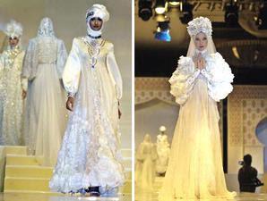 Fashion Gaun Pengantin Muslimah