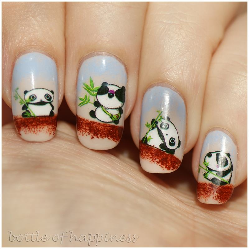 Panda Nail Art: Unhas Urso /nail Bear On Pinterest
