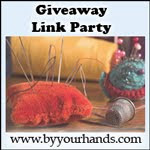 By Your Hands Giveaway Link party