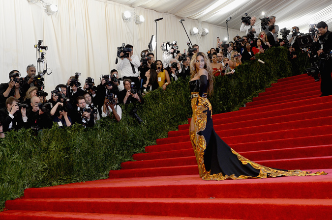 Beyoncé gala Met 2013 (Givenchy)