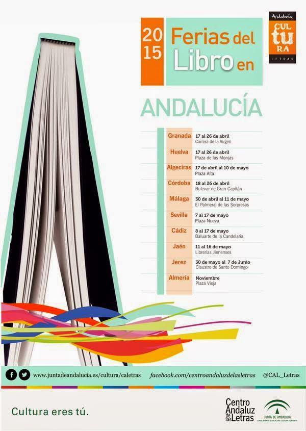 Ferias del Libro en Andalucía