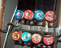 Electrical Panel: regular servicing will reduce lighting issues