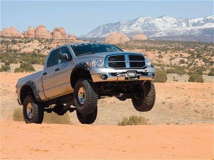 2007 Dodge Ram 2500 Power Wagon Jump View