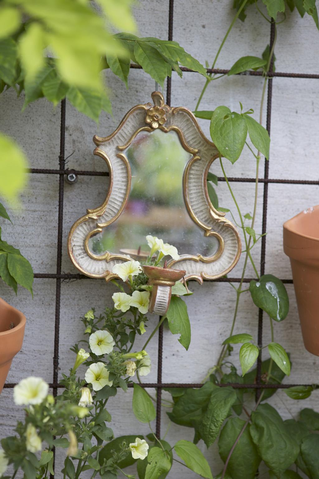Lavendeldockor: gamla speglar