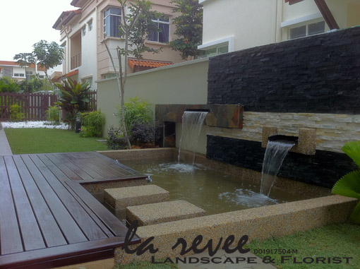 Professional koi pond and landscape contractor for Koi pond design malaysia
