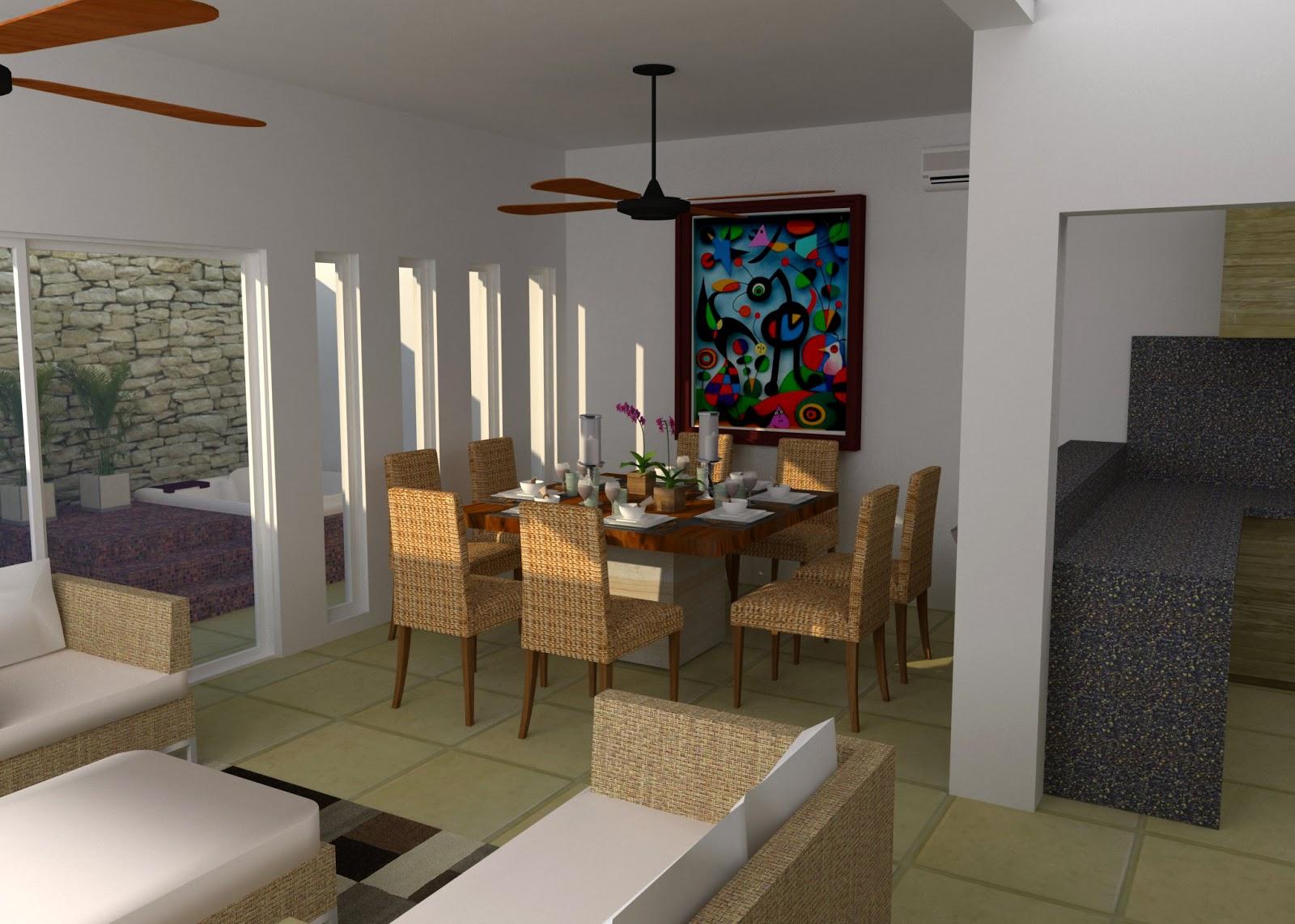 Casa ro residencial arbolada by cumbres cancun for Taller de diseno de interiores