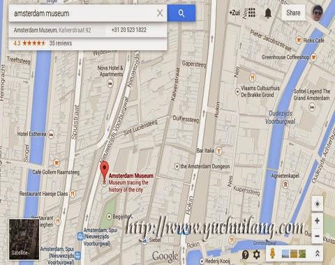 Peta Muzium Amsterdam